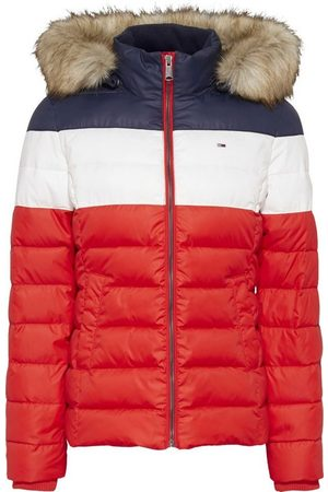 Tommy Hilfiger Steppjacke »TJW COLORBLOCK JACKET« im modischdem Colorblocking & Logo-Flag