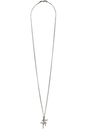 EMANUELE BICOCCHI Cross necklace in silver